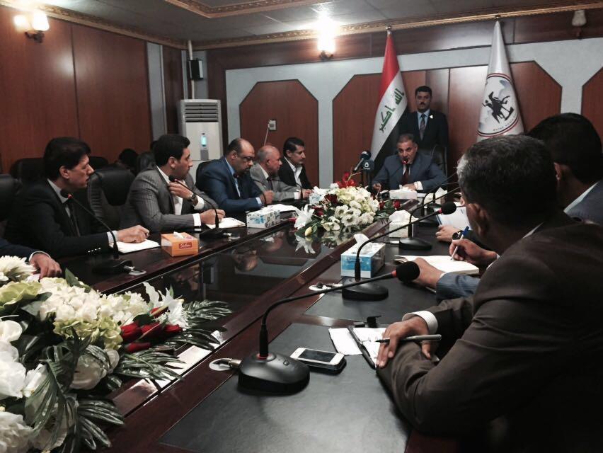 محافظ صلاح الدين الدكتور احمد الجبوري يعقد اجتماعاً موسعاً مع رؤساء الوحدات الادارية