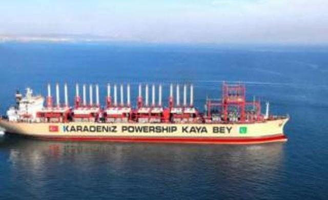 """الكهرباء تعلن توقف عمل بارجات الطاقة التركية بسبب """"تراكم الديون"""""""