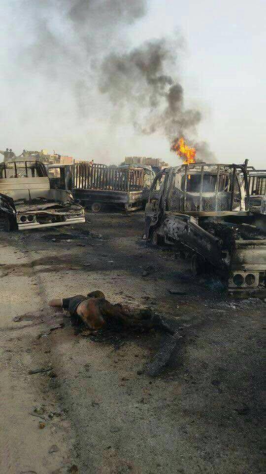 بالصور قائد عمليات الانبار تدمير اكثر من ٣٠٠ عجله تابعه لتنظيم داعش