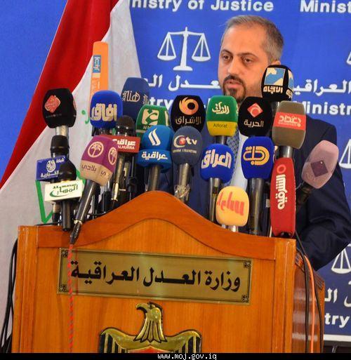 وزير العدل يتعهد بالثأر للشهداء وعدم الانصياع للضغوطات في احكام الاعدام