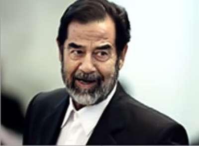 صدام حسين يذهب إلى هوليوود
