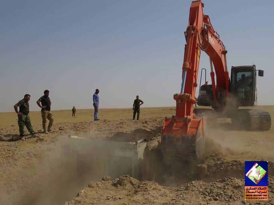 سرايا السلام تعثر على معسكر لداعش في منطقة عيال الثرثار