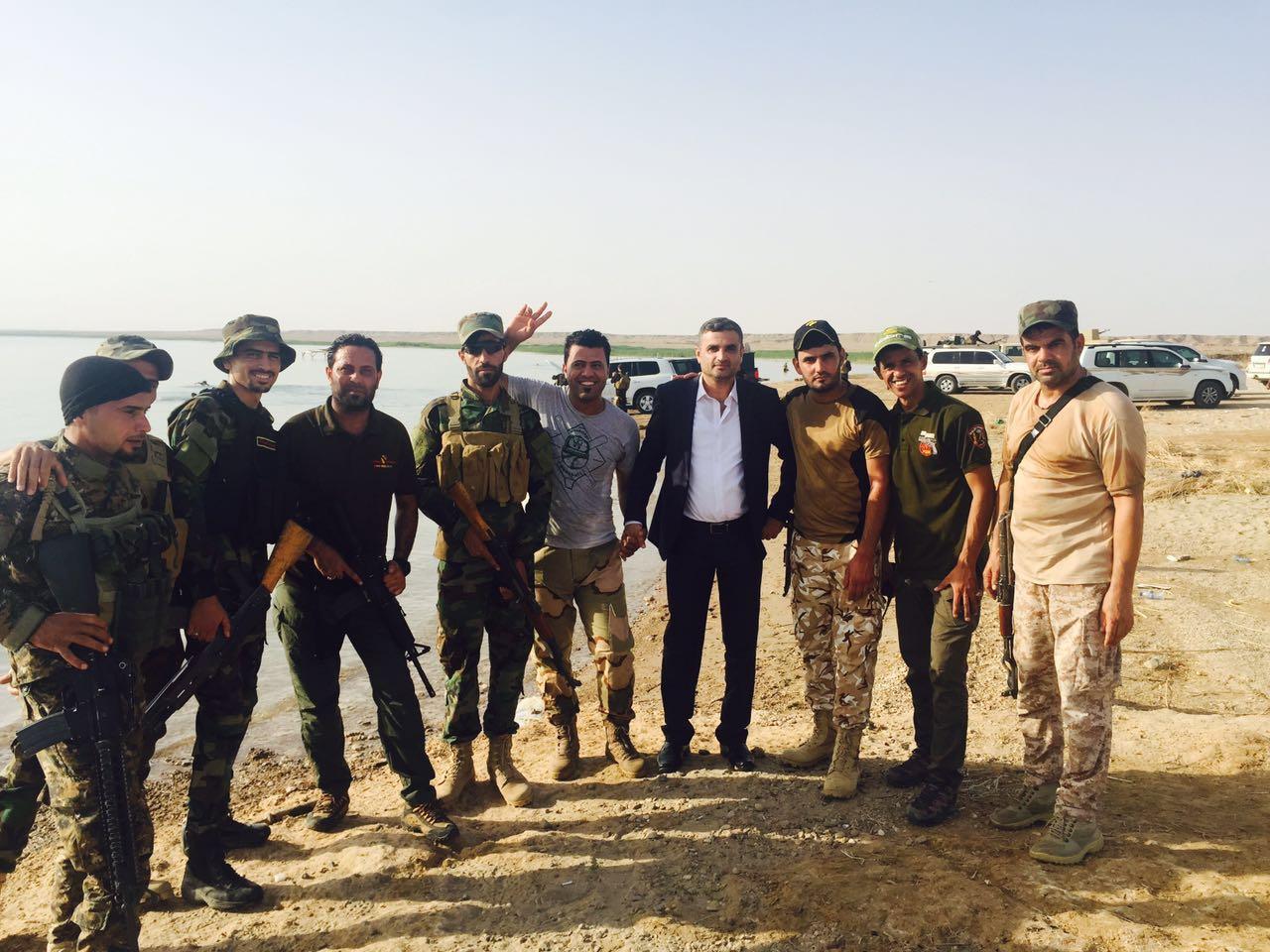 بقلم الاعلامي علي الحمداني اخوتي العراقيين : حشدنا سر وجودنا  اقولها وبالحسچة الجنوبية