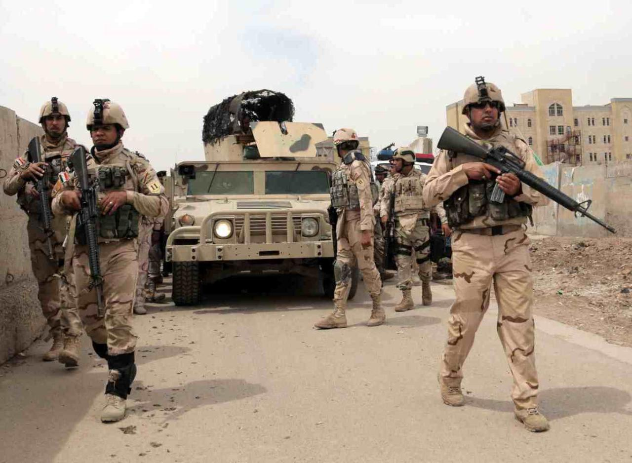 أعلن قائد عمليات الانبار اللواء إسماعيل المحلاوي ،اليوم السبت، عن تحرير منطقة البو عبيد شرقي مدينة الرمادي من سيطرة تنظيم داعش الإجرامي