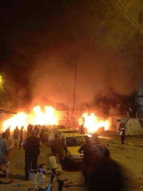 امنية بغداد تعلن مقتل 60 شخصاً واصابة اكثر من 100 آخرين بتفجير الكرادة