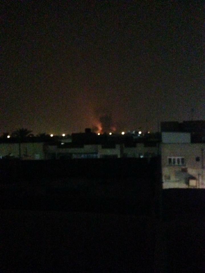 عاجل صواريخ وراجمات تظرب مطار بغداد الدولي