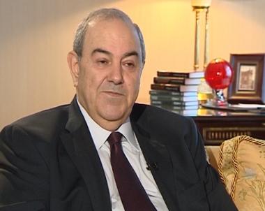 الدكتور اياد علاوي يعتذر عن استقبال المهنئين بعيد الفطر المبارك حدادا على ارواح شهداء العراق