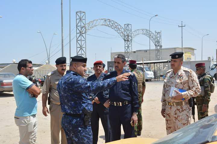 كربلاء: قوات مكافحة الاجرام تلقي القبض على عصابة سرقة وسطو مسلح