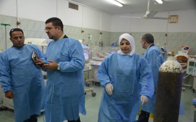 فساد مستشفى اليرموك يرويها احد مراجعيها