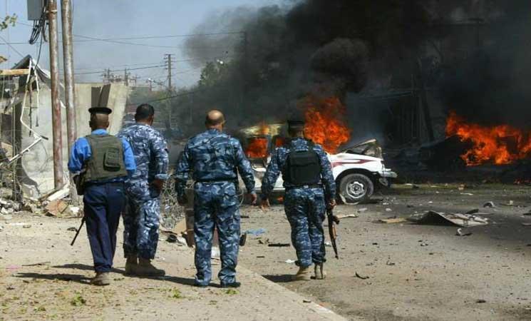 "قتلى وجرحى بانفجار في ""سوق شعبي"" جنوب غربي بغداد"