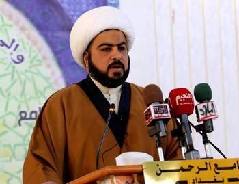 خطيب جمعة بغداد: أين مبالغ ميزانية ٢٠١٦ ولماذا بعض المحافظات لم تستلم ديناراً ونحن على اعتاب شهر أيلول
