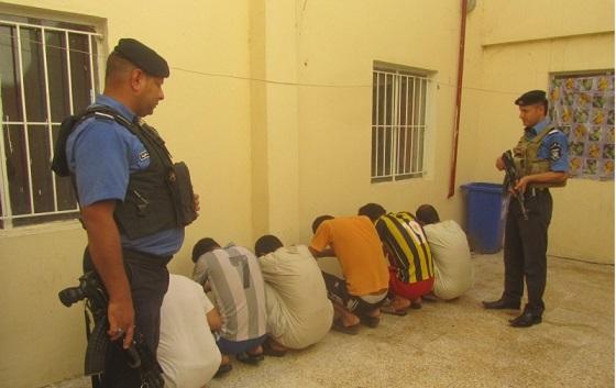 القبض على متهمين بجرائم قتل في البصرة