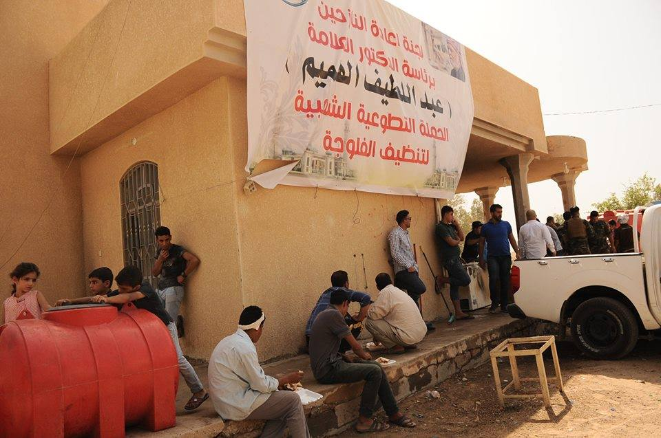 الدكتور الهميم يوجه مطعم الديوان في الفلوجة بفتح ابوابه لتوزيع الطعام على مدار اليوم