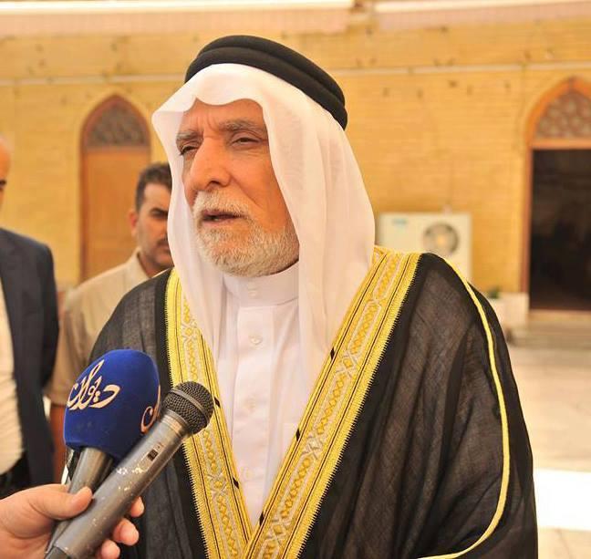 معالي رئيس الديوان الدكتور عبداللطيف الهميم يعلن تضامنه مع اهل كركوك في مواجهة الارهاب