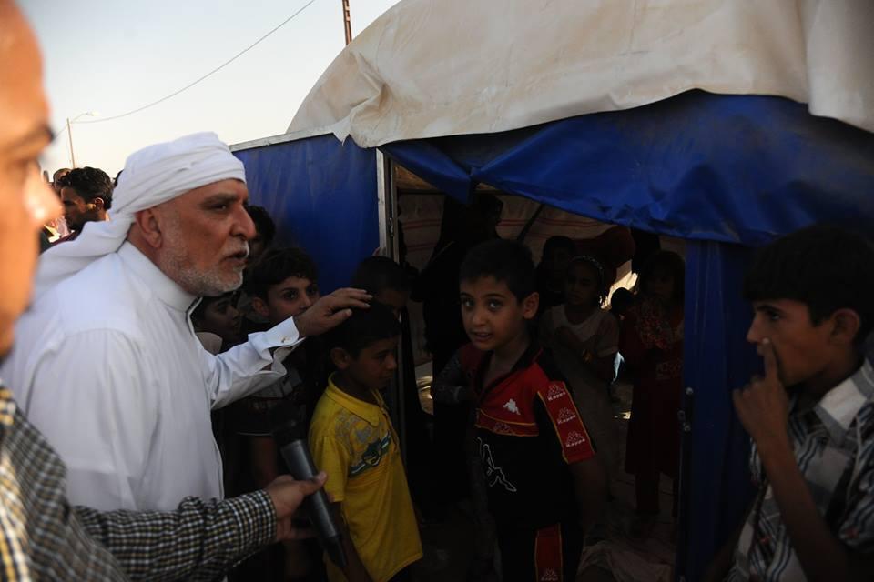 الدكتور الهميم يوجه مطعم الديوان بفتح ابوابه على مدار اليوم لتقديم وجبات الطعام والماء لاهالي الفلوجة