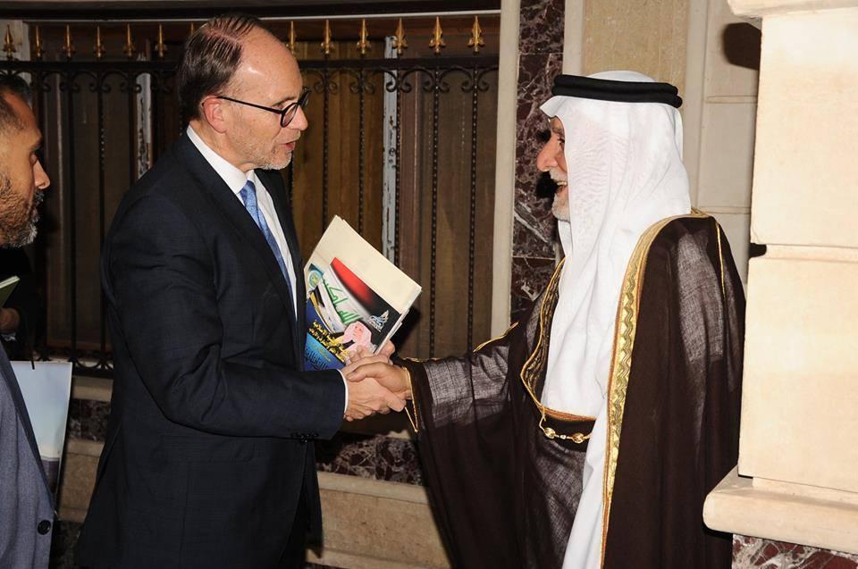 الدكتور الهميم يبحث مع السفير الأمريكي الجديد لدى العراق الملف الانساني وإغاثة النازحين