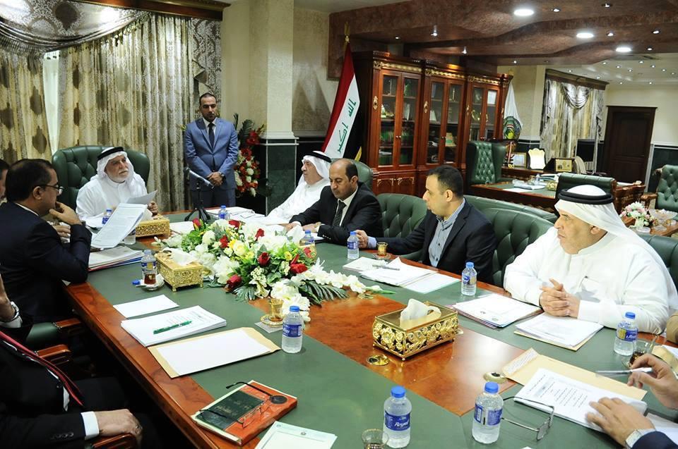 الدكتور الهميم يتراس الاجتماع الرابع لهيئة الرأي في الديوان