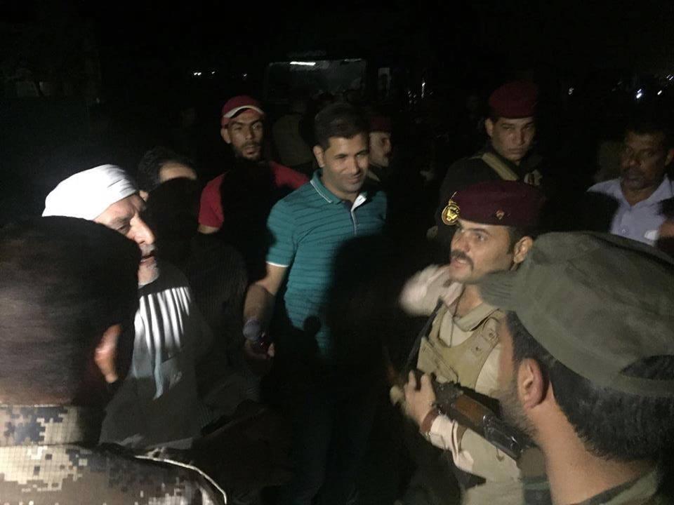 عاجل:الشيخ العلامة الدكتور عبد اللطيف الهميم يلتقي قائد عمليات غرب بغداد ، ويضع الحلول المناسبة لادخال العوائل العائدة