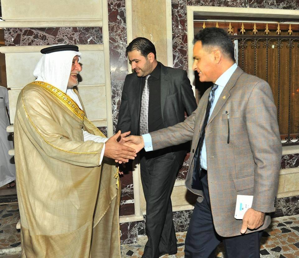 الدكتور الهميم يلتقي السفير المصري ويبحث معه اخر التطورات على الساحة العراقية