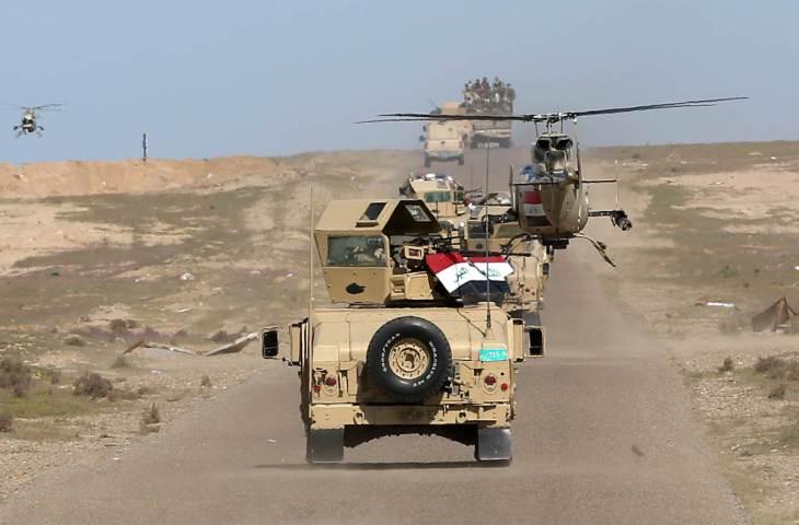 القوات الامنية تحرر قرية شريرات من دنس الدواعش جنوب الموصل