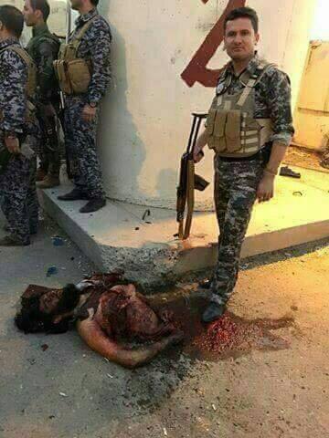 بالصور:جُثَثَ جُردآن دآعش تمٌلأ شوآرع گٍرگٍوگٍ على يِد آبطآلّ آلّعرآق