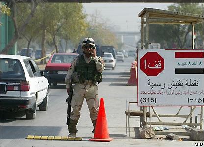 أمنية بغداد: السيطرات المكشوفة صيغ إستعراضية لاجدوى منها