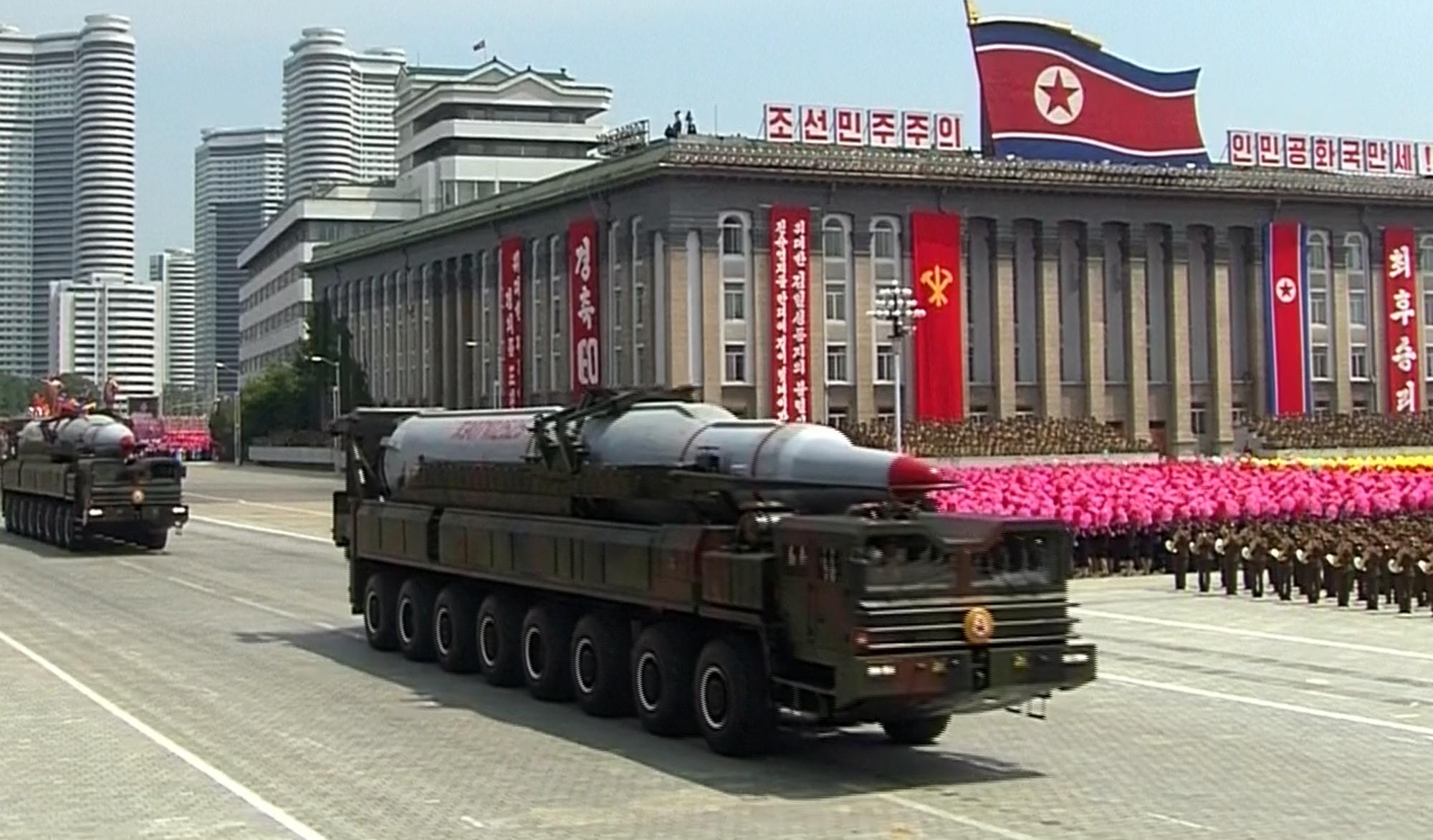 كوريا الشمالية تتوعد برفع قدراتها النووية للرد على التهديد الامريكي