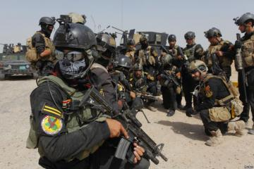 """مكافحة الإرهاب: القوات اتخذت مواقعها وبانتظار """"ساعة الصفر"""" للبدء بعملية تحرير الموصل"""