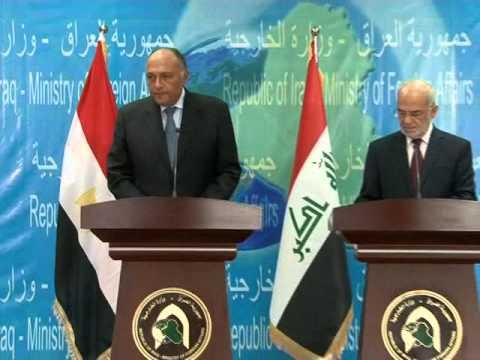 وزير الخارجية المصري يدعو تركيا الى احترام اجماع الجامعة العربية حول خروج قواتها من العراق