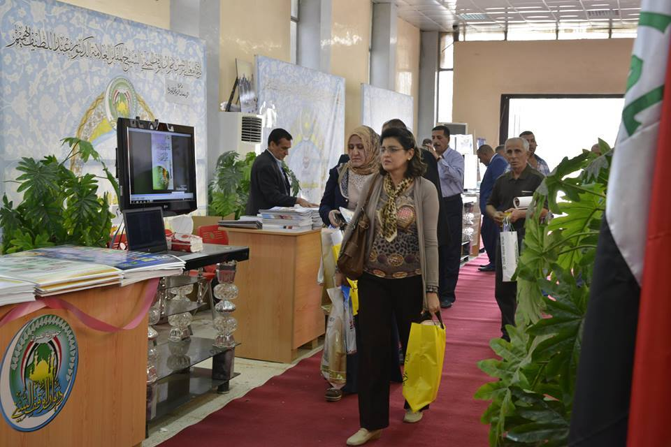 اقبال واسع على جناح الديوان في معرض بغداد الدولي