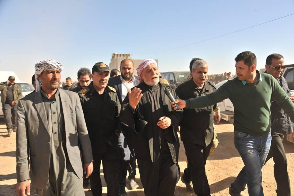 نواب عن الموصل يشيدون بدور الدكتور عبد اللطيف الهميم في تفقد المناطق المحررة وتقديم المساعدات الى العوائل
