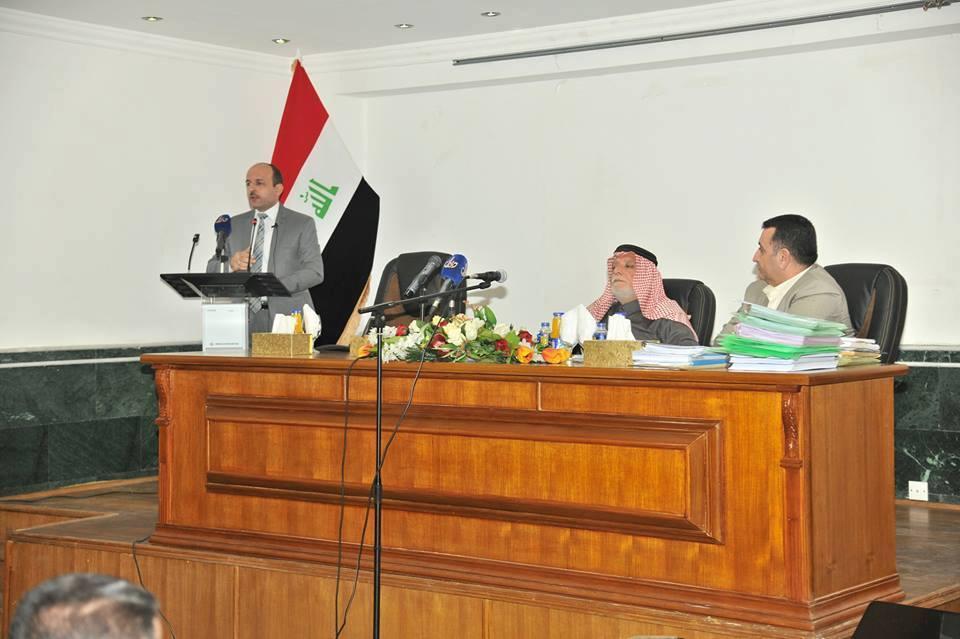 الدكتور الهميم يعقد اجتماعا موسعا لمناقشة إنجازات ديوان الوقف السني لعام ٢٠١٦