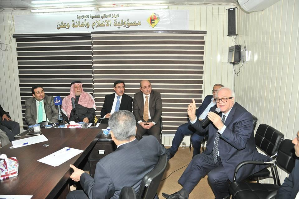لدوره الكبير تجاه النازحين … الدكتور الهميم يشارك باللقاء الشهري الوطني في المركز العراقي للتنمية الإعلامية