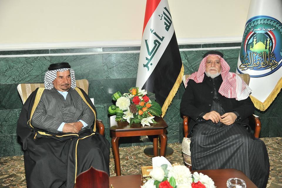 الدكتور الهميم يستقبل شيوخ قضاء المدائن ووجهاءه مبيناً لهم ان عملي هو خدمة لكل العراقيين