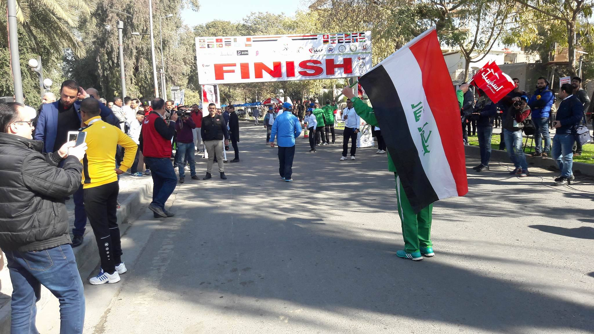 انطلاق ماراثون المحبة والسلام في بغداد بمشاركة 24 دولة عربية وأجنبية
