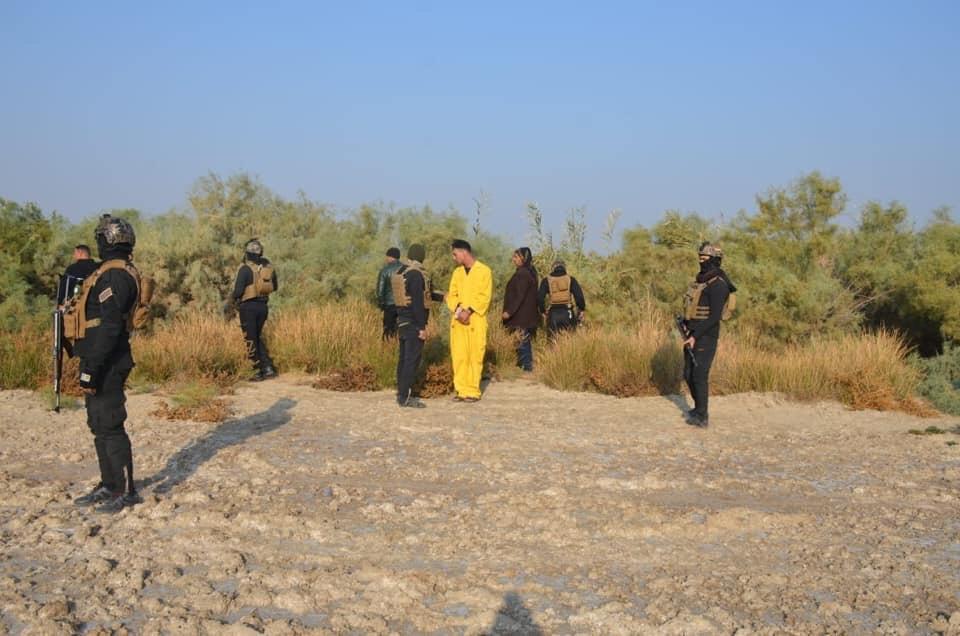 خلية الصقور  تلقي القبض على عصابة تسليب وخطف في عدة محافظات عراقية