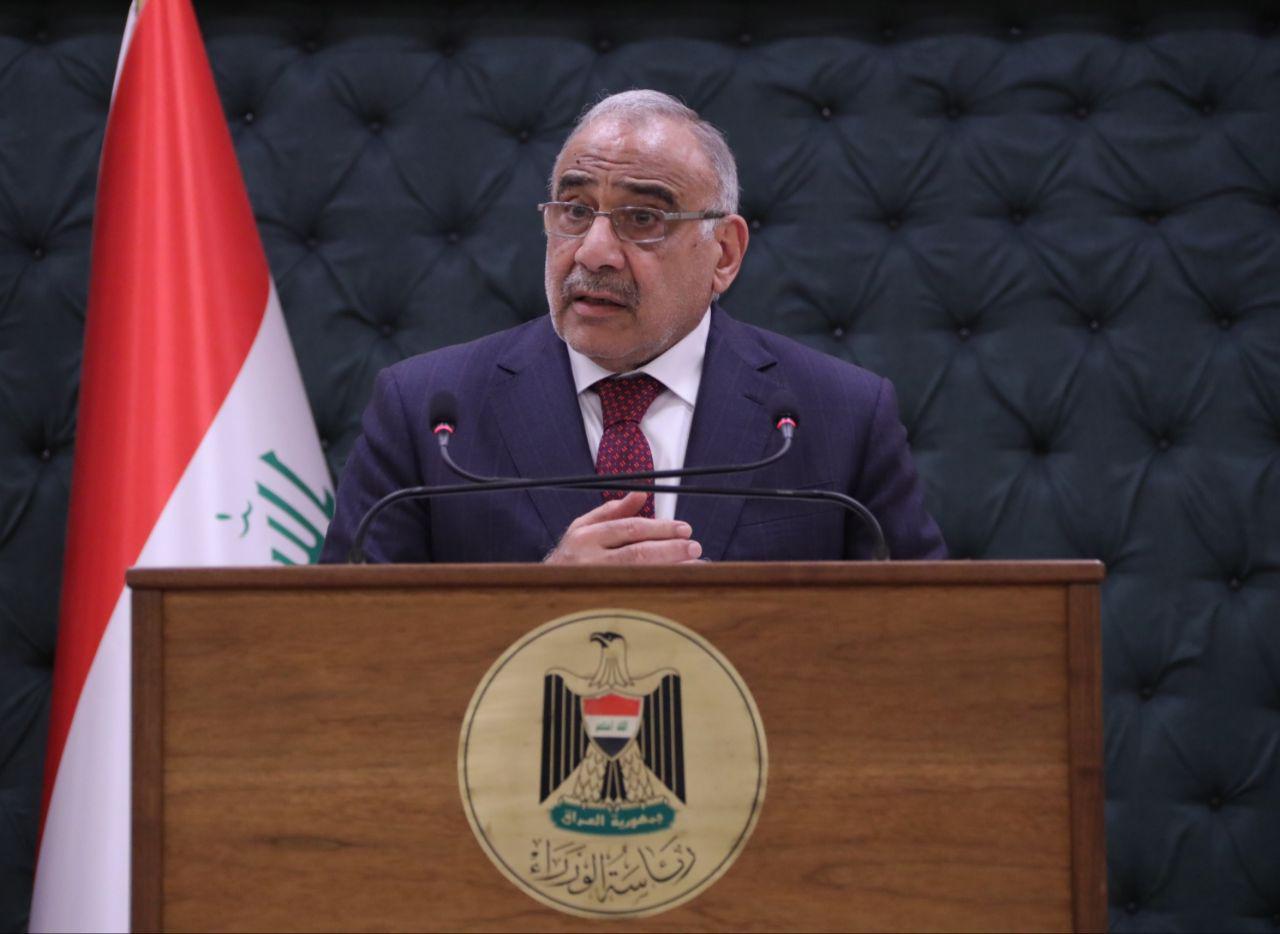 الرد على امريكا….الابقاء على السيد عادل عبدالمهدي رئيسا للوزراء
