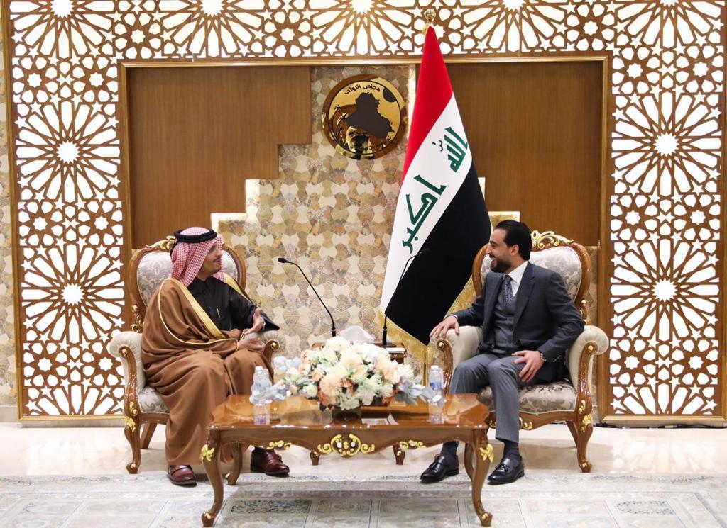 رئيس مجلس النواب يستقبل نائب رئيس الوزراء وزير الخارجية القطري