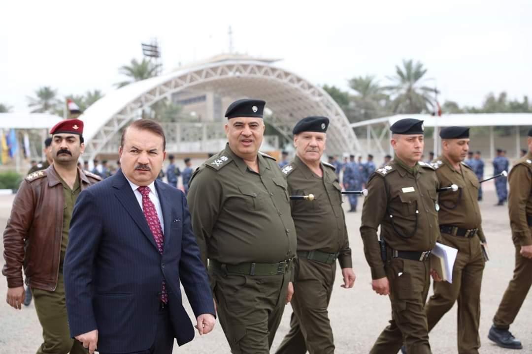 وزير الداخلية يزور المعهد العالي للتطوير الأمني والإداري لمتابعة طلاب الدورة التأهيلية السابعة والعشرون