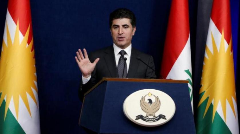 بلاغ اجتماع رئاسات اقليم كوردستان وقيادات القوى السياسية برئاسة السيد نيچيرڤان بارزاني رئيس اقليم كوردستان