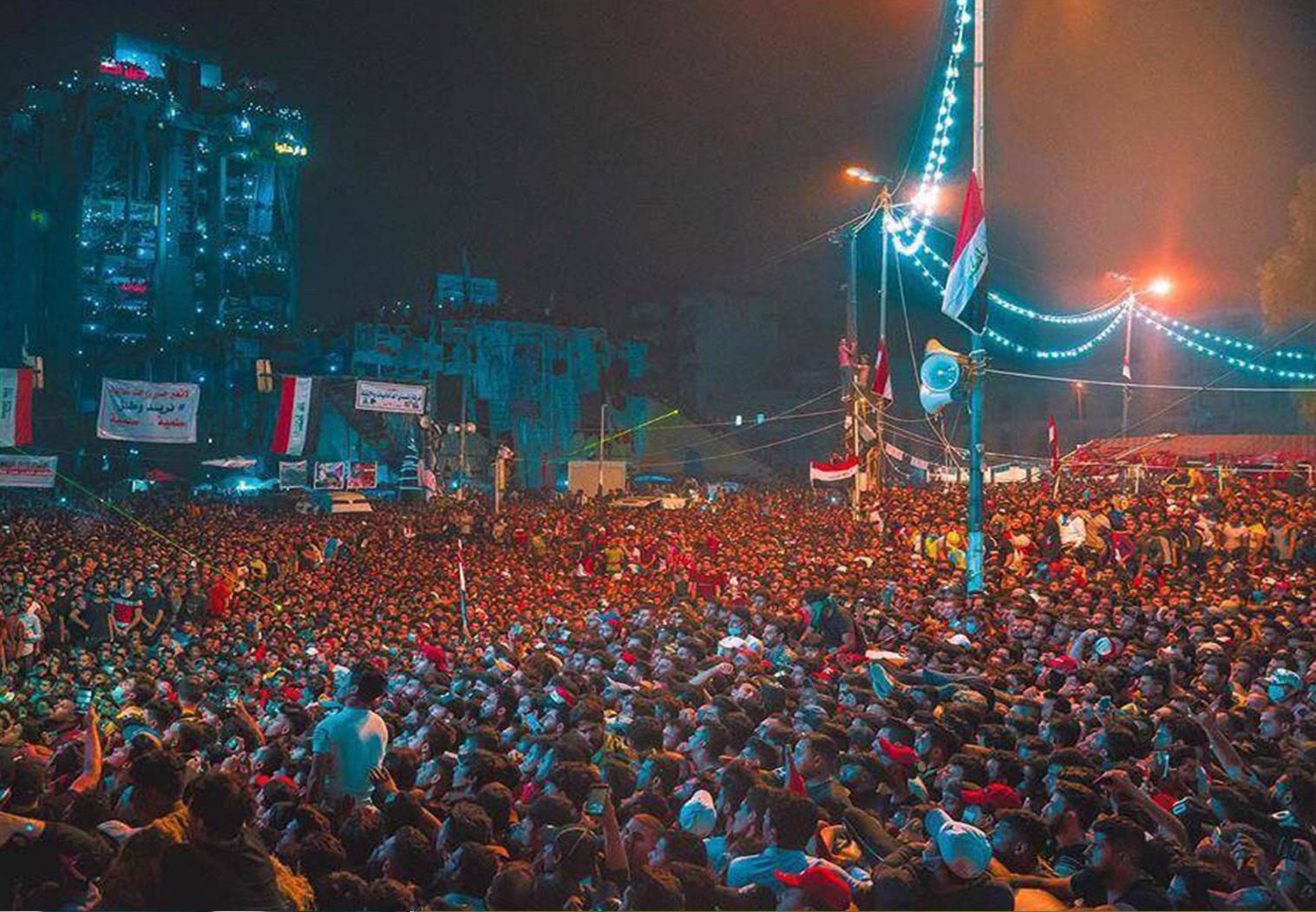 #هام بيان متظاهروساحة التحرير