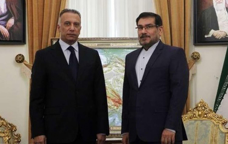 على لسان صحف عربية: هل سيكون لقاء شمخاني بالكاظمي محطة العبور نحو رئاسة الحكومة؟