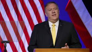 وزارة الخارجية الأمريكية – واشنطن مكتب المتحدث الرسمي 13 نيسان، 2020