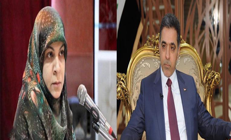 عبر تغريدتين للغبان وحنان الفتلاوي.. الفتح وإرادة يصوتون لصالح الكاظمي