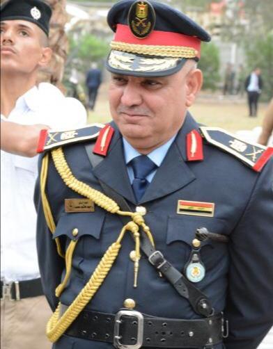 تهنئة الى مدير عام الموارد البشرية في وزارة الداخلية