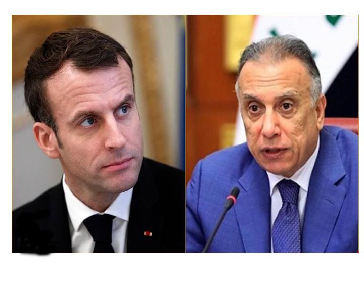 الحياة تدب في خطوط إتصالات رئاسة الوزراء، فبعد وزير الخارجية الأمريكي، الرئيس الفرنسي يتصل بالكاظمي، ويبحث معه العلاقات