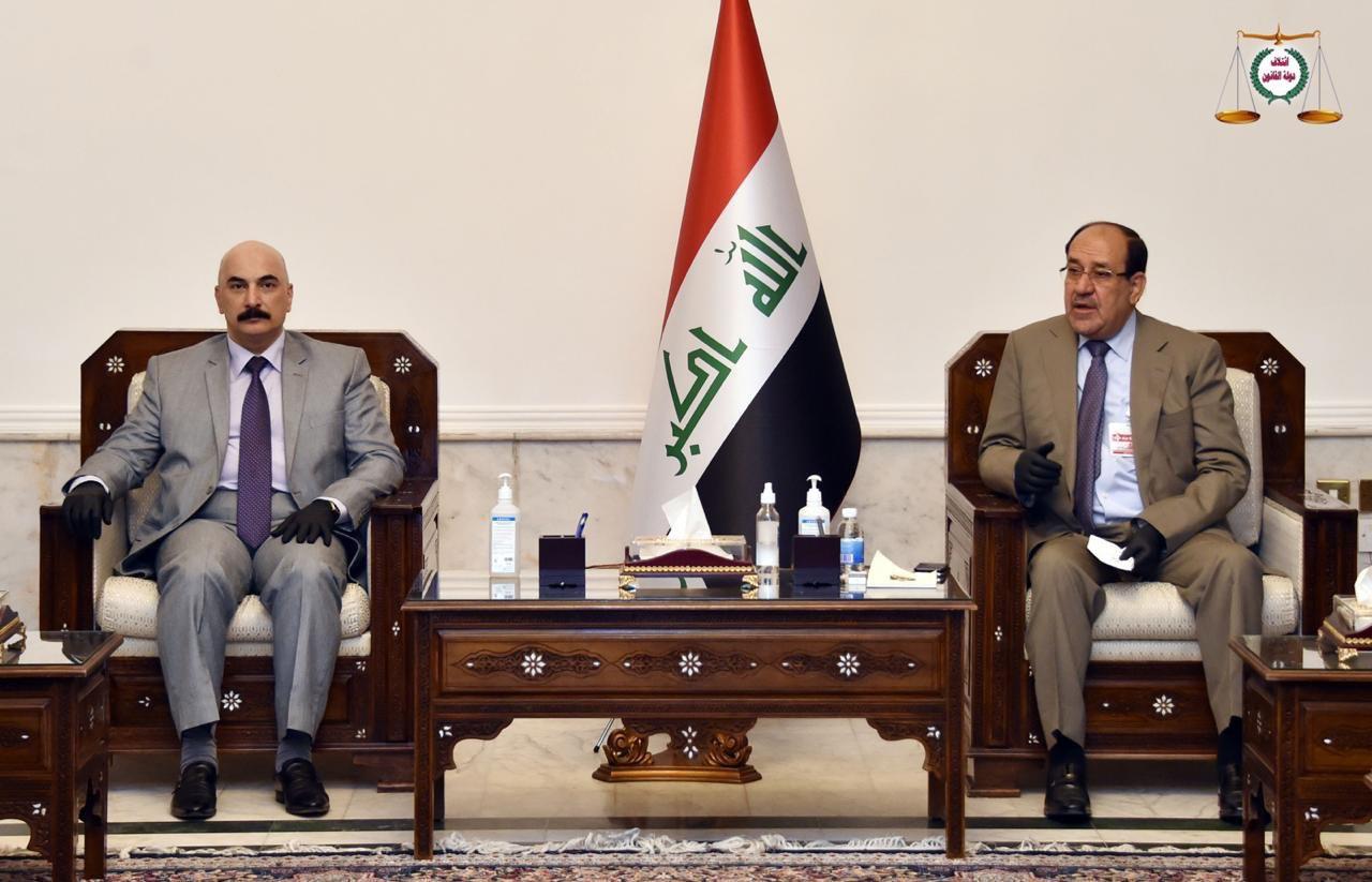 رئيس ائتلاف دولة القانون السيد نوري المالكي يستقبل عددا من المحافظين
