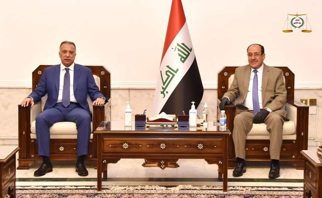 رئيس ائتلاف دولة القانون السيد نوري المالكي يستقبل رئيس مجلس الوزراء