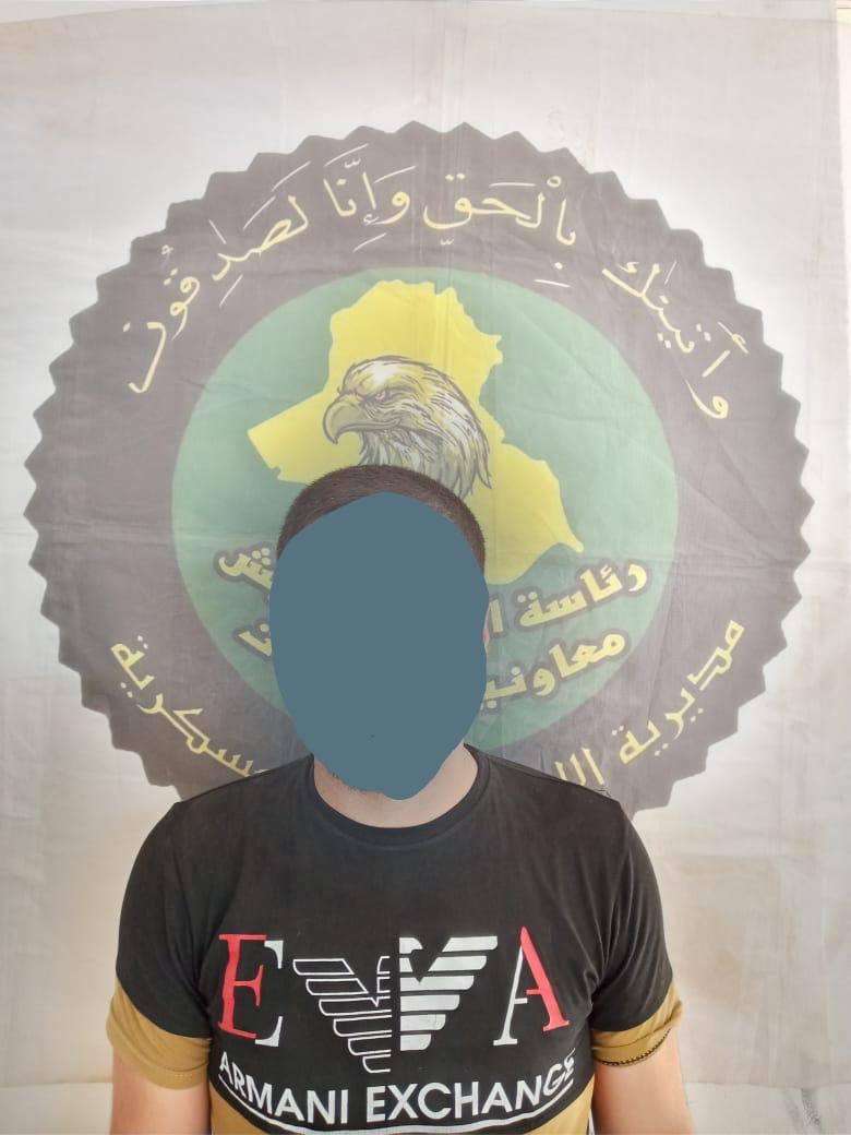 استخبارات الفرقة 16 تلقي القبض على احد الارهابيين جنوبي الموصل