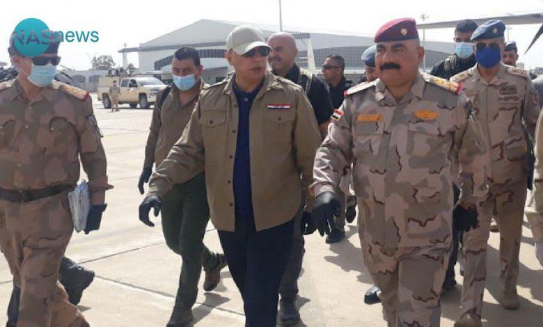 الناطق باسم القائد العام: الكاظمي يتفقد منفذ المنذرية الحدودي مع إيران